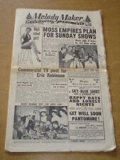 MELODY MAKER 1954 DECEMBER 11 CHRISTMAS ISSUE SUZI MILLER MOSS EMPIRES ROZA +