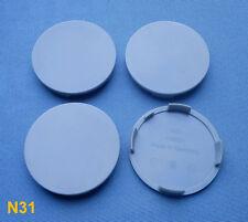(N31) 4x Nabenkappen Nabendeckel Felgendeckel 64,0 / 61,0 mm für Alufelgen