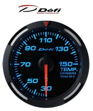 Defi Racer 52mm Car Oil Temperature Gauge - Blue - JDM Style Stepper Motor