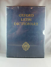 Oxford Latin Dictionary - 2 Volume Set - Hardcover - Brand New