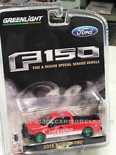 Greenlight GREEN MACHINE 2015 Ford F-150 Fire & Rescue Truck   Hobby EXCLUSIVE