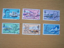 BRITISH ANTARTIC TERRITORY,1980,GEOGRAPHICAL SOC,SET OF 6 VALS,F/USED.