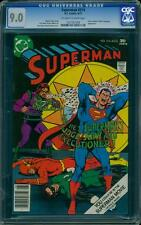 Superman 314 CGC 9.0 OW/W Pages Bronze Age DC Comic IGKC L@@K