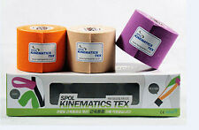 New 3Roll Sports Muscle Care Kinesiology Sports Tape Taping 5cm x 3.5m