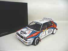 1:18 Kyosho Lancia Delta HF Evo 2 Rallye Monte Carlo 1991 # 1 NEU NEW