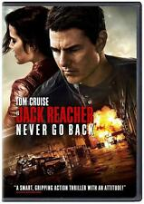 Jack Reacher 2 Never Go Back (DVD 2016) NEW* Action, Drama* SHIPS NOW