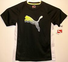 Puma Kids Boy's T-Shirt - Sports LifeStyle - NWT - Boys Small