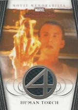 "Marvel Masterpieces 2 FF3 ""Human Torch"" Memorabilia Costume Card (Black & Blue)"