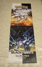 Pokemon Black & White Promo Store Retail Poster 12 x 34 inches