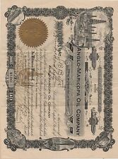 1911 Anglo Maricopa Oil Company Stock Certificate from Arizona for 250 Shares