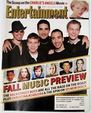 Entertainment Weekly 503 Sept 17 1999  Fall Music Preview  Backstreet Boys cover