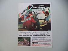advertising Pubblicità 1978 MOTO APRILIA MX 125