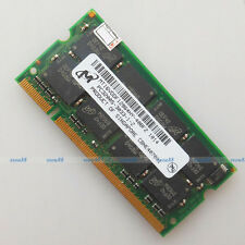 Micron 1GB PC3200 DDR400 400Mhz 200PIN Laptop SO-DIMM Memory 1G RAM Full Test