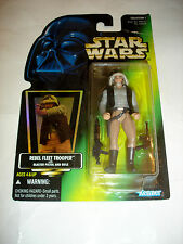 Kenner 1996 Hasbro Star Wars Rebel Fleet Trooper Action Figure MIP New Green