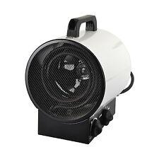 Weiß 3kW Heizstrahler Heizgerät Heizlüfter Elektroheizung Heizer Bauheizer