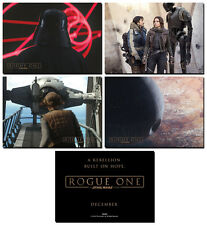 NEW - ROGUE ONE A STAR WARS STORY- 4 Card Promo Set - Darth Vader Death Star