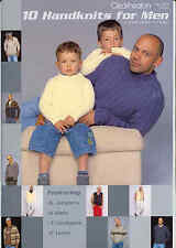Cleckheaton 10 HANDKNITS FOR MEN plus 1 Boy  * NEW