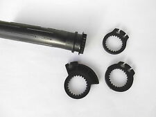 Comando gas / Tubo gas HONDA CR125 CR250 CR500 uni 1&2 swift 110mm - presa assy