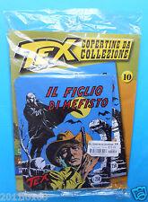 tex copertine da collezione n. 10 il figlio di mefisto copertina in metallo 125