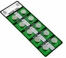 10 X AG13 LR44 SR44 L1154 357 A76 QUALITÀ ALKALINE BUTTON / BATTERIE A BOTTONE