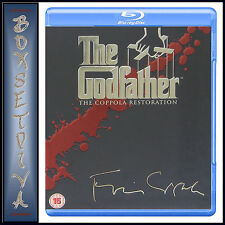 THE GODFATHER - 1 2 3 TRILOGY - CAPPOLA RESTORATION BOXSET *BRAND NEW BLU-RAY*