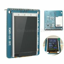 For Arduino UNO/MEGA/Nano 1.8'' SPI TFT LCD Color Display Module w/ PCB Adapter