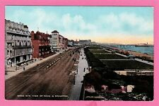 Vintage Postcard, Birds Eye View of Hove and Brighton, Sussex.
