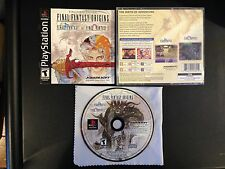 Final Fantasy Origins Black Label Playstation 1 2 PS1 PS2 System Complete Game