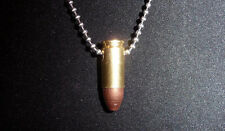9mm Bullet Necklace in Brass Shell - Show Your Patriotism!