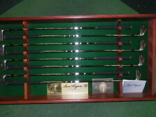 NEW RARE BEN HOGAN GOLF CLUBS  2003  50th ANIVERSARY IRON SET  WITH DISPLAY RACK