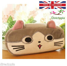 Peluche Gatto Astuccio Per Le Matite Beauty Case Kawaii Kitty Anime Giappone