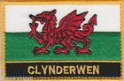 Clynderwen Wales Cymru Town & City Embroidered Sew on Patch Badge