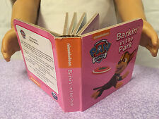 """Mini Real Book for 18"""" American Girl Doll School Supply"""