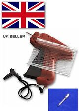 Tagging Gun +1 Steel Needle +1000 Kimble Tag Label System Barbs For Clothes Sock