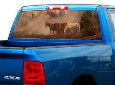 P420 Horse Rear Window Tint Graphic Decal Wrap Back Truck Tailgate