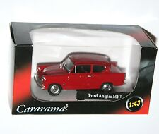 Cararama - FORD ANGLIA MkI (Red) Model Scale 1:43