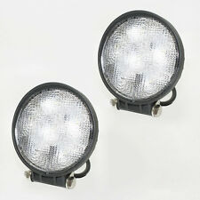 2x 18W LED Metal Flood Beam Work Lamp Light Car Tractor Digger Off Road Boat 12V