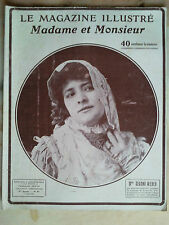 le magasine illustré madame monsieur n°54 de 1906 mode