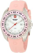 NEW Swiss Military Calibre Women's 06-6S1-04-008 Sealander Pink MOP Watch