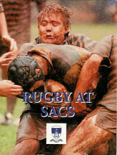 """""""RUGBY AT SACS (South Africa College School)"""" - RUGBY BOOK"""