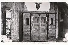 Somerset Postcard - Elizabethan Cupboard - Inner Hall - Dunster Castle    BH166