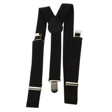 Adjustable Brace Clip-on Unisex Pants Elastic Adult Child Y-back Suspender-Y UL