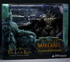 World of Warcraft:Wrath of the Lich King-Arthas Menethil Frostmourne Figures New