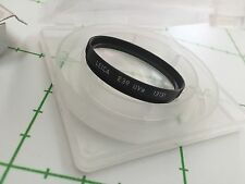 LEICA FILTER UVa E39 - BLACK - REF 13131 - NEW