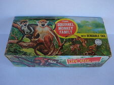 Rare Vintage Factory Case Box 1960's-70s Imperial Wonder Zoo Squirrel Monkey Toy