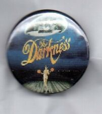 THE DARKNESS BUTTON BADGE British Rock Band - Permission To Land 25mm Pin