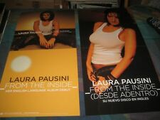 LAURA PAUSINI-(from the inside)-1 POSTER-2 SIDED-12X24-MINT-RARE