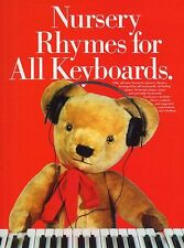 Nursery Rhymes For Keyboards Learn to Play Kids PIANO Guitar PVG Music Book