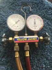 Ritchie Yellow Jacket Test And Charging Manifold R-12 R-22 R-502