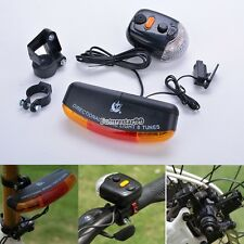 Bike Bicycle Tail Turn Brake Signal 7LED Light Lamp Turning Indicator Horn FT